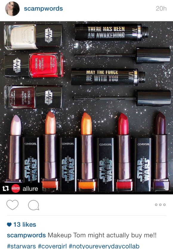 Cover Girl Star Wars Collaboration