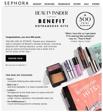 Sephora Email